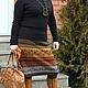 Юбки ручной работы. Ярмарка Мастеров - ручная работа. Купить юбка-перуанка2. Handmade. Орнамент, кауни, теплая юбка