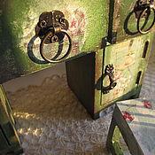 Для дома и интерьера ручной работы. Ярмарка Мастеров - ручная работа Мини-мебель в стиле vintage. Handmade.