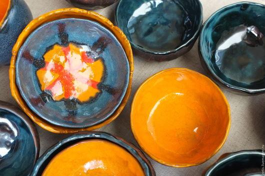 Пиалы ручной работы. Ярмарка Мастеров - ручная работа. Купить Пиала. Handmade. Комбинированный, Керамика, пиала, пиала из глины, глазурь