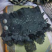"""Украшения ручной работы. Ярмарка Мастеров - ручная работа Браслет """"  Black Swan """". Handmade."""