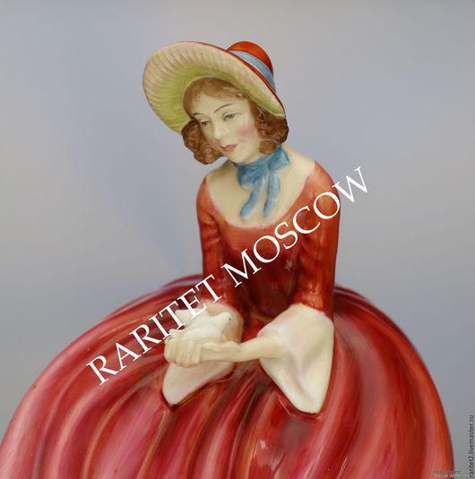 Винтажные предметы интерьера. Ярмарка Мастеров - ручная работа. Купить Девушка птица Royal Doulton Англия 63г 14. Handmade.