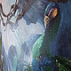 Животные ручной работы. Заказать Потаенный уголок. FlowersDivo  (Портнова Римма). Ярмарка Мастеров. Картина для интерьера, интерьерная картина, павлин