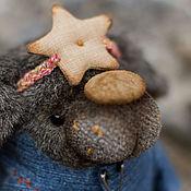 Куклы и игрушки ручной работы. Ярмарка Мастеров - ручная работа звёздный пёс. Handmade.