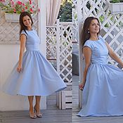 Платье Селеста - платье миди