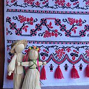 """Свадебный салон ручной работы. Ярмарка Мастеров - ручная работа Свадебный рушник """"Счастливая судьба"""". Ручная вышивка. Handmade."""
