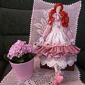 Куклы и игрушки ручной работы. Ярмарка Мастеров - ручная работа Иветта барышня в стиле шебби шик. Handmade.