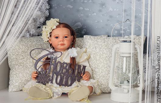 Куклы-младенцы и reborn ручной работы. Ярмарка Мастеров - ручная работа. Купить Реборн Камилла. Handmade. Рыжий, синтепух