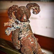 """Куклы и игрушки ручной работы. Ярмарка Мастеров - ручная работа зайка на ладошке """" Пряничный"""". Handmade."""