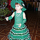 Kids' Carnival Costumes handmade. Livemaster - handmade. Buy Carnival costume 'violet Tree'.Carnival costume, dressy suit