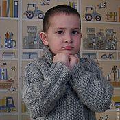 Работы для детей, ручной работы. Ярмарка Мастеров - ручная работа Детский свитер КЛАССИКА. Handmade.
