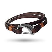 Украшения handmade. Livemaster - original item Lace bracelet: Bracelet Aurelius Coffee. Handmade.