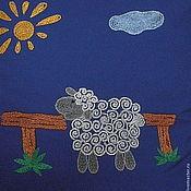 """Для дома и интерьера ручной работы. Ярмарка Мастеров - ручная работа Детская наволочка """"Барашек"""". Handmade."""