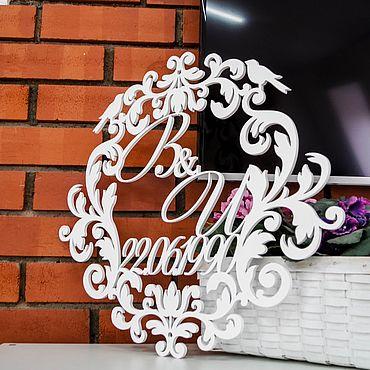 Свадебный салон ручной работы. Ярмарка Мастеров - ручная работа Герб на свадьбу. Handmade.