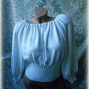 """Одежда ручной работы. Ярмарка Мастеров - ручная работа Блуза""""Белоснежка"""". Handmade."""