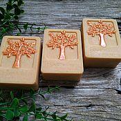 Мыло ручной работы. Ярмарка Мастеров - ручная работа Натуральное мыло с нуля на морковном соке. Handmade.