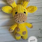 Мягкие игрушки ручной работы. Ярмарка Мастеров - ручная работа Жираф. Handmade.