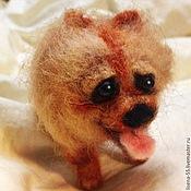Куклы и игрушки ручной работы. Ярмарка Мастеров - ручная работа Шпиц. Handmade.