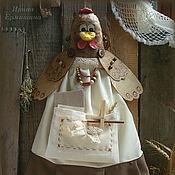 Для дома и интерьера ручной работы. Ярмарка Мастеров - ручная работа Курица пакетница. Handmade.