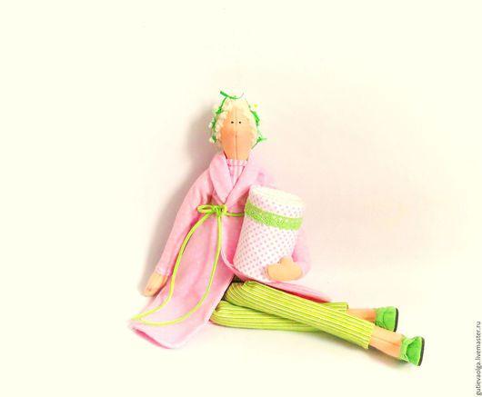 Куклы Тильды ручной работы. Ярмарка Мастеров - ручная работа. Купить Тильда. Банный ангел. Handmade. Тильда, текстильная кукла