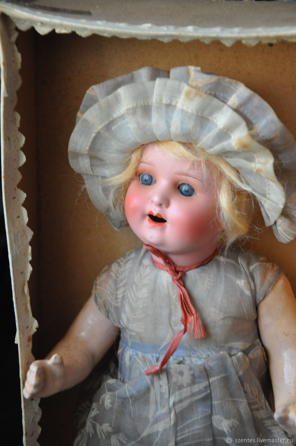 Antique doll, Vintage doll, Budapest,  Фото №1