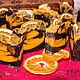 Мыло ручной работы. шоколадно - апельсиновый глинтвейн с нуля CP. MULYA (bymulya). Ярмарка Мастеров. Шоколадное мыло, какао тёртое