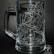 Посуда handmade. Livemaster - original item Frigate. Beer mug.. Handmade.