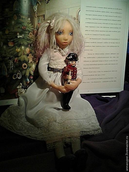 Коллекционные куклы ручной работы. Ярмарка Мастеров - ручная работа. Купить Мари. Handmade. Голубой, сказка