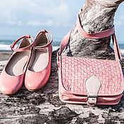 Обувь ручной работы handmade. Livemaster - original item Ballet shoes made of genuine leather . Leather ballet flats for summer, for fall. Handmade.