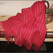 """Аксессуары ручной работы. Ярмарка Мастеров - ручная работа Палантин """"Калины красной цвет"""". Handmade."""