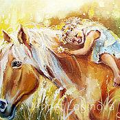 Картины и панно handmade. Livemaster - original item My horse. Handmade.