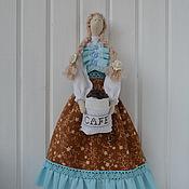 Куклы и игрушки ручной работы. Ярмарка Мастеров - ручная работа Тильда Кофе Бирюза. Handmade.