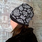 Аксессуары handmade. Livemaster - original item beanie women`s knitted. Handmade.