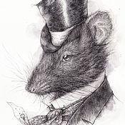 Крыс.(В частной коллекции