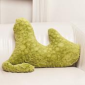 """Для дома и интерьера ручной работы. Ярмарка Мастеров - ручная работа подушка-тень """"Шкадаба"""". Handmade."""