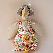 Куклы и игрушки ручной работы. Ярмарка Мастеров - ручная работа Гусь Тильда. Handmade.