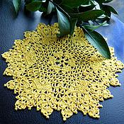 Для дома и интерьера handmade. Livemaster - original item Doily crochet Summer. Handmade.