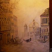 Дизайн и реклама ручной работы. Ярмарка Мастеров - ручная работа роспись стен в холле-Пейзаж Венеции,роспись стен в холлле,росписная ро. Handmade.