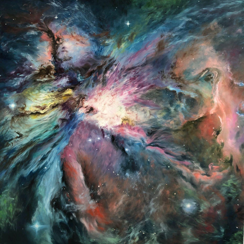 Картина маслом на холсте - космос, Картины, Улан-Удэ, Фото №1