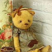 Куклы и игрушки ручной работы. Ярмарка Мастеров - ручная работа Мишка Лина Коллекционный медведь тедди. Handmade.