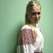 Народные костюмы ручной работы. Ярмарка Мастеров - ручная работа Рубаха однодворцев. Handmade.
