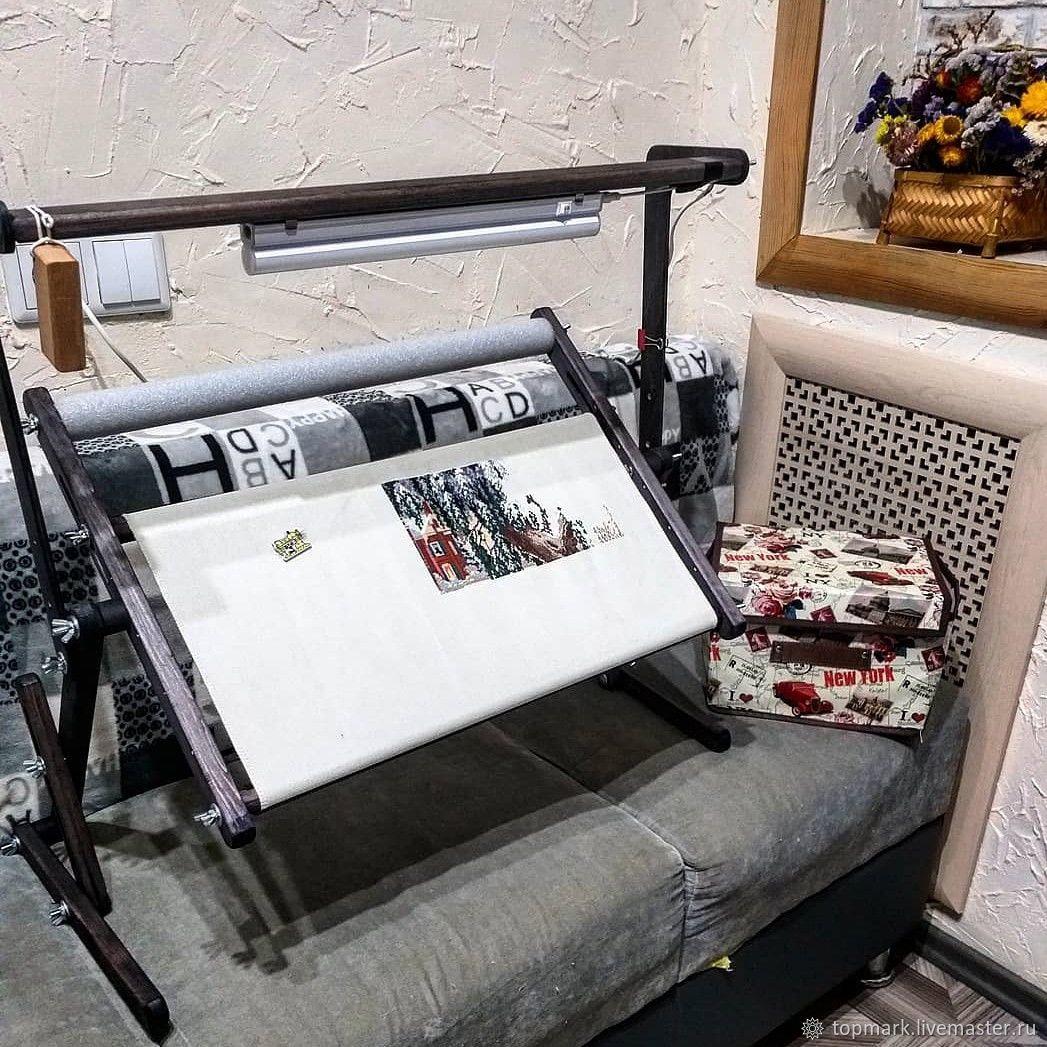 Станок для вышивания диванный №12 + светильник, Инструменты, Мелеуз, Фото №1