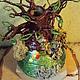 Это Чудо многофункционально, может быть: вазой для небольшого букетика подставкой для украшений подставкой для ручек, карандашей, кисточек украшением рабочего стола или комнаты в целом:) Прекрасн