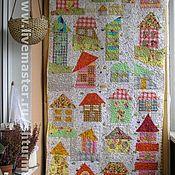 """Для дома и интерьера ручной работы. Ярмарка Мастеров - ручная работа Одеяло  """"Little House"""". Handmade."""