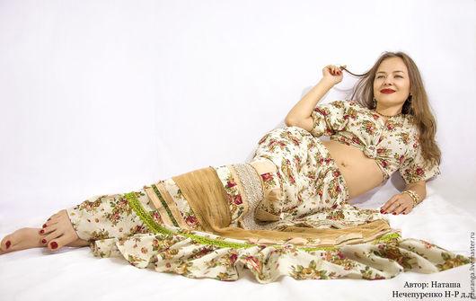 Создаю длинные, колоритные юбки в стиле бохо и шебби шик...))