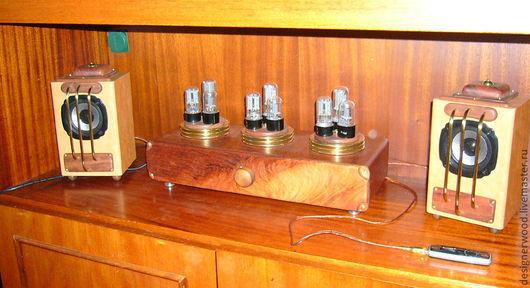 Комплекты аксессуаров ручной работы. Ярмарка Мастеров - ручная работа. Купить усилитель для MP3 плеера. Handmade. Теслапанк, музыка