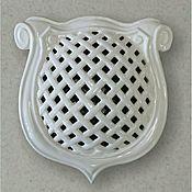 handmade. Livemaster - original item Lattice ceramic. With mesh. Handmade.