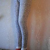 """Одежда ручной работы. Ярмарка Мастеров - ручная работа Лосины  """"Геометрия"""". Handmade."""