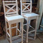 Для дома и интерьера ручной работы. Ярмарка Мастеров - ручная работа Барные стулья в стиле-прованс. Handmade.