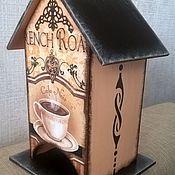 """Для дома и интерьера ручной работы. Ярмарка Мастеров - ручная работа Чайный домик """"Строгость"""". Handmade."""