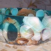 Bead bracelet handmade. Livemaster - original item Bracelet a breeze. Handmade.